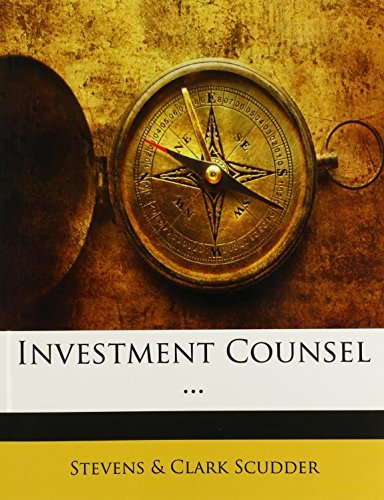 Investment Counsel ... by Stevens & Clark Scudder (2009-12-31)