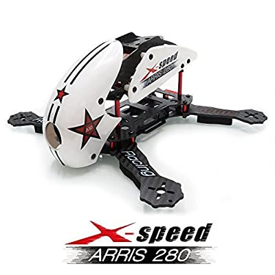 ARRIS X-Speed 280 Racing drone Frame RC Quadcopter White KIT (Unassembled)