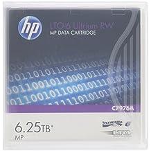 HP C7976A LTO-6 Ultrium Cartucce Dati 6.25 TB su Nastro,