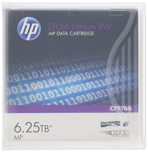HP C7976A LTO6 MP RW Data Tape - C7976A lowest price