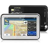 """4.3"""" GPS Auto-navigation de Voiture Moto 8GB, NickSea MTK 2531 Appareil de Navigation Écran Tactile, Intégrer le Système des Instructions Vocales Multi-languages (Gratuits Cartographie d'Europe Mode Pré installé)"""