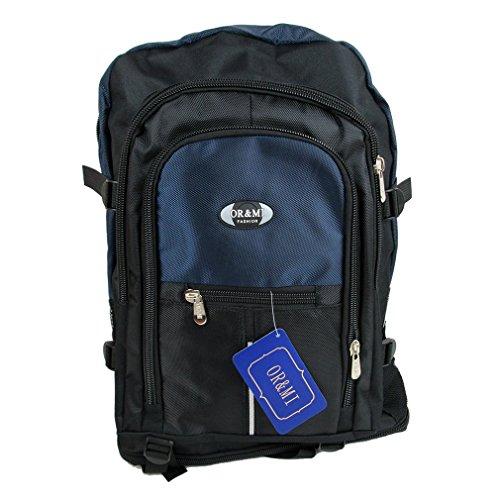 prezzo competitivo 41ec2 d9775 Zaino da viaggio medio bagaglio a mano cabina aereo voli low cost BLU