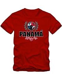 Shirt Happenz Fútbol Panama V2 Camiseta | Hombre | Fútbol | Jersey | La Marea Roja