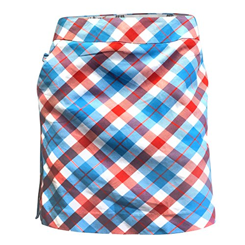 Royal & Awesome Plaid A Blinder jupe-short Femme Multicolore...