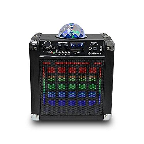 IDANCE BC 20 Sistema de Sonido Portatil Bluetooth, Micrófono, Mando a Distancia,...