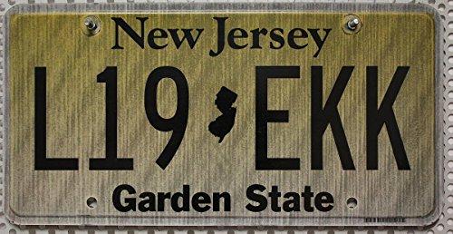 US Nummernschild NEW JERSEY Kennzeichen # USA License Plate # Auto - Schild