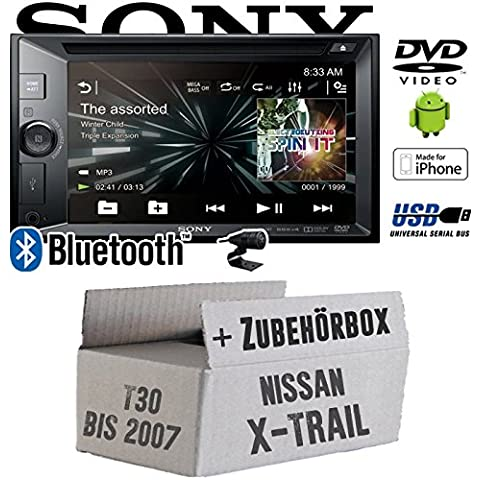 Nissan X-Trail T30 bis 2007 - Sony XAV-W650BT - 2DIN