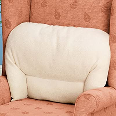 Fleece Back Rest Lumbar Support Aid Armchair Cushion produced by Chums - quick delivery from UK.