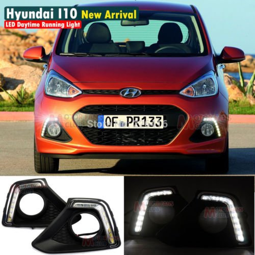 hyundai i10 grand led drl (day time running lights) fog light cover HYUNDAI i10 GRAND LED DRL (DAY TIME RUNNING LIGHTS) FOG LIGHT COVER 517aqkR38vL