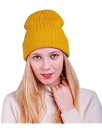 Amazon.it  Sciarpa di lana - Giallo   Cappelli e cappellini ... 3cd3ba18d4fe