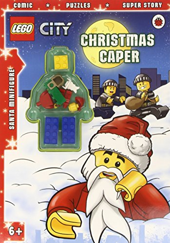 Lego city: christmas caper activity book with minifigure by aa vv (3-oct-2013) paperback