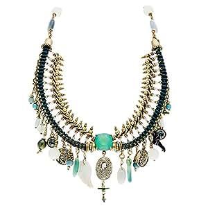 Collier Plastron (turquoise)