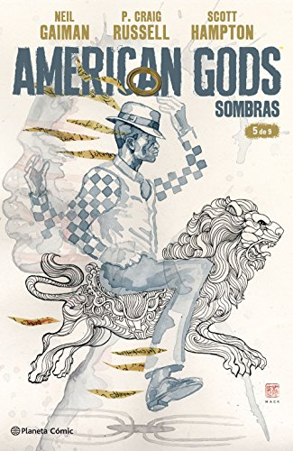 American Gods Sombras nº 05/09 (Independientes USA) por NEil Gaiman