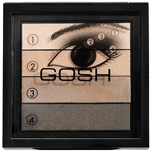 Gosh Smokey Eyes Palette (02 Brown)