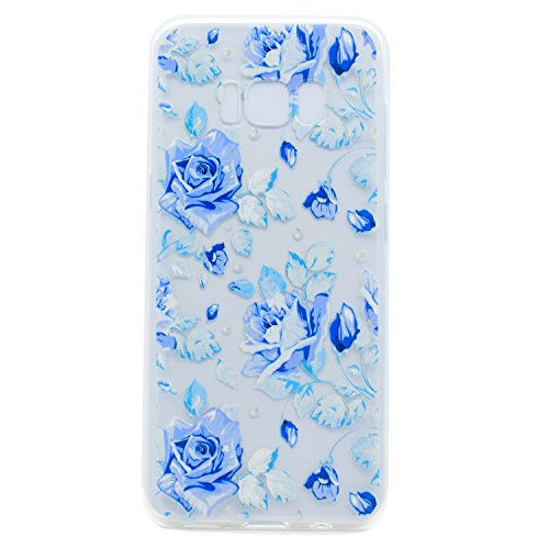 lonchee-samsung-galaxy-s8-case-cover-color-printing-pattern-transparent-clear-soft-tpu-bumper-back-c