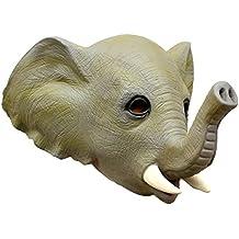 Queenshiny® máscara de látex animales (Elefante)