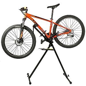 """Lixada Telescópica de bicicletas Reparación de bicicletas Reparación estante de soporte ajustable 31.5 """"a 47"""""""