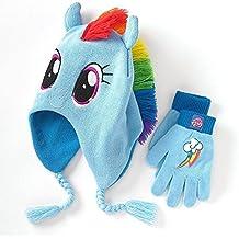 My Little Pony–Rainbow Dash gorro y guantes