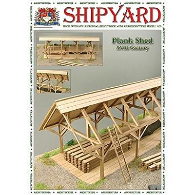 Shipyard Nr 54 Schuppen 1:72 von Shipyard