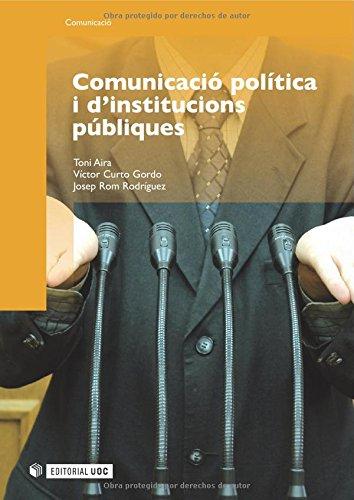 Comunicació política i d'institucions públiques (Manuals)