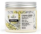 Körpercreme mit Aloe Vera und Kokosöl  Für sehr trockene und rissige Haut  mit Sheabutter und Kokosöl  Italienische Naturkosmetik  Natyr - Fair & Natural  200ml