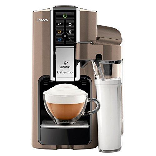 Tchibo Kaffeekapselmaschine Saeco Cafissimo LATTE, Titanio thumbnail