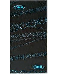 KMC Promo - Pañuelo para el cuello/cabeza unisex, color negro, 24 x 48 cm