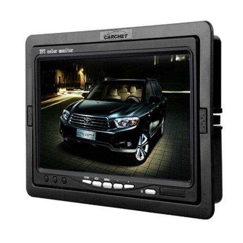 "CARCHET® 7\"" Auto Monitor KFZ Bildschirm TFT Farb Monitor für Rückfahrkamera DVD VCD GPS+ Fernbedienung"