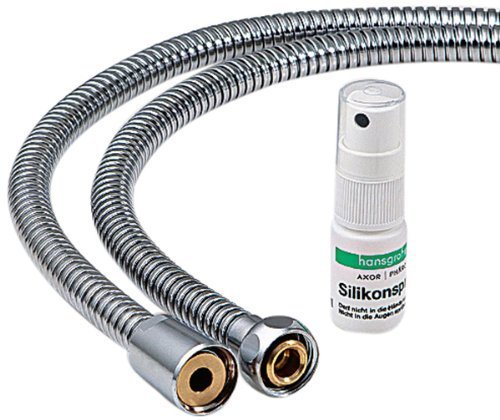 Preisvergleich Produktbild Hansgrohe Secuflex 94148000 Hose for Four-Hole Bath / Rim-Mounted Fixtures Metal by Hansgrohe