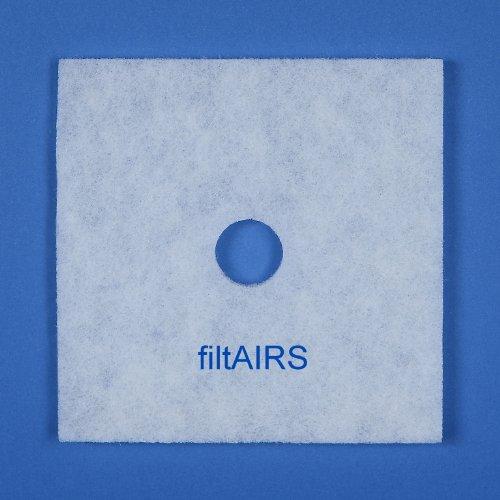 5 Filter Ersatzfilter Staubfilter Luftfilter für Lunos Lüfter Skalar LRK-S LRA-S LRK-2S 2/FSK 033 863