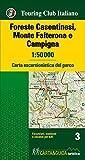 Foreste Casentinesi, Monte Falterone e Campigna 1:50.000. Carta escursionistica del parco. Con Libro: Foreste Casentinesi, Monte Falterone e Campigna. Guida del parco