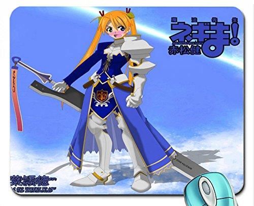 mahou-sensei-negima-the-knight-wallpaper-mouse-pad-computer-mousepad