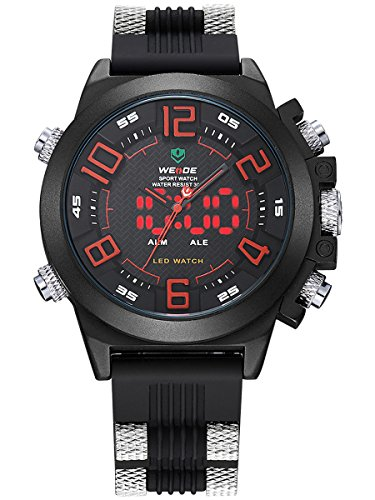 alienwork-dualtime-led-analogue-digital-watch-xxl-oversized-wristwatch-multi-function-polyurethane-b