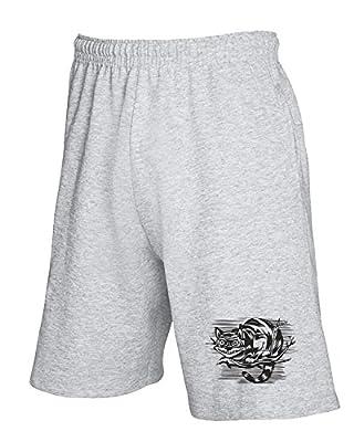 Cotton Island - Pantalons de survetement courts FUN0989 Cheshire Cat Madness hoodie detail