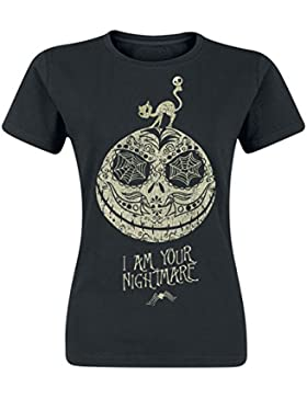 Pesadilla Antes De Navidad Jack - I Am Your Nightmare Camiseta Mujer Negro