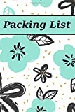 Packing List: Packing List Checklist Manifesto Trip Planner Vacation Planning Adviser Itinerary Travel Diary Planner Organizer Budget Notes size 6*9 ... 95 Pages (Seamless vintage pattern): Volume 4