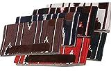 Amesbichler AMKA Westernpad | Western Pad Farbe: rot | Western Satteldecke | Filz unterlegt, ca. 76 x 76 cm Navajo Design