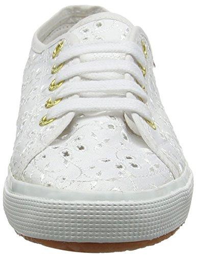 Superga 2750 Sangallosatinj, Sneakers basses mixte enfant Blanc (Blanc)