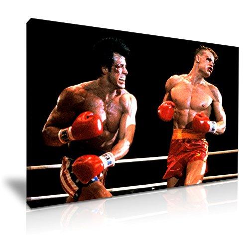 Rocky Balboa vs Ivan Drago, 76 x 50 cm, Farbe ()