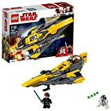 Die besten LEGO Star Wars Action-Figuren - LEGO Star Wars Anakin's Jedi Starfighter (75214), Star Bewertungen
