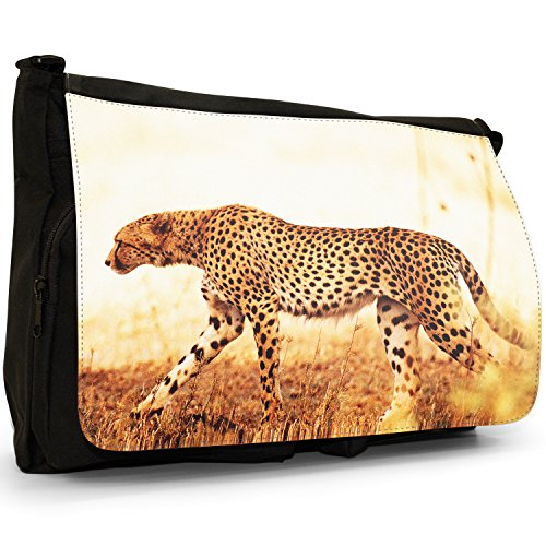 Fancy A Bag Borsa Messenger nero Cheetah Cheetah