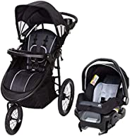 Babytrend Cityscape Plus Jogger Travel System Raven suitable for 6Months-36months car seat group (0-10kg)-Blac