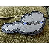 JTG Defend Österreich Austria Patch, Thin Blue Line, Special Edition