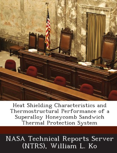 Heat Shielding Characteristics and Thermostructural Performance of a Superalloy Honeycomb Sandwich Thermal Protection System (Sandwich-server)