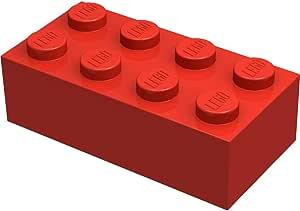 100 Steine 3004 LEGO Stein 1x2 dunkel-lila 54 Steine