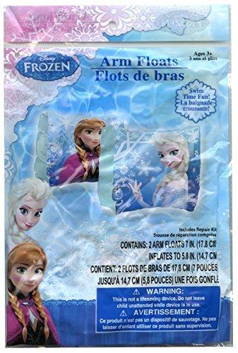 Disney Frozen Elsa and Anna Swimming Pool Inflatable Arm Floats by Disney (Frozen-pool Disney)