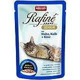 Animonda Rafine Soupe Senior mit Huhn, Kalb plus Käse, 24er Pack (24 x 100 g)