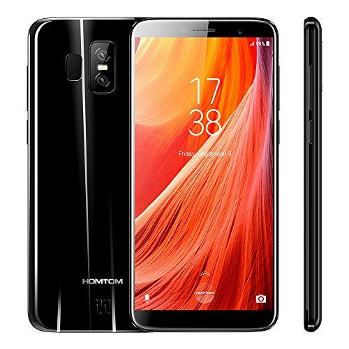 HOMTOM S7  4G LTE Smartphone 5.5-Zoll HD 18: 9 Vollbill, Android 7.0 Quad Core 3GB RAM+32...