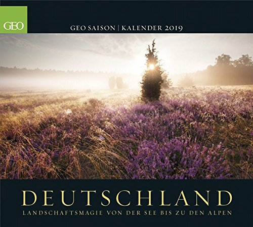 Deutschland 2019: Posterkalender GEO