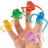 Baker Ross Mostriciattoli da dita da Regalare alle Feste dei Bambini per Giocarci (confezione da 10)